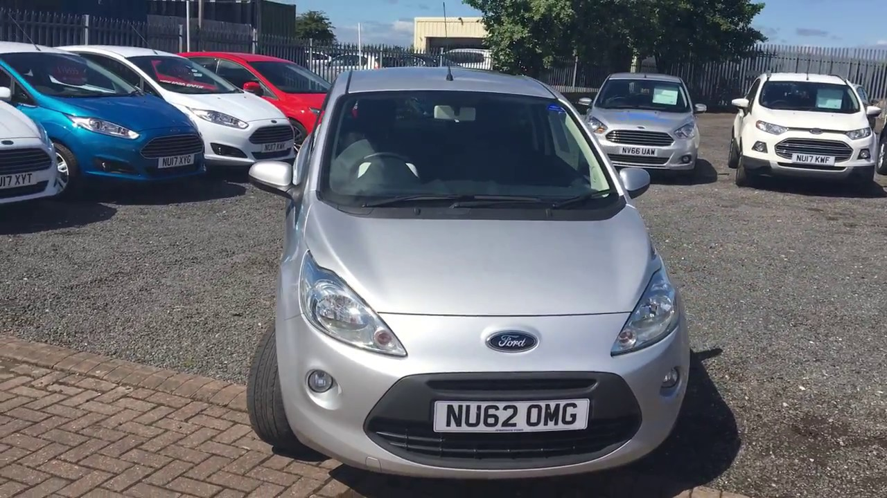 Used Ford Ka  Dr Start Stop Moondust Silver