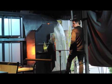 Seattle Chihuly Glass Exhibit, Glass Blowing Workshop, Seattle, Wa