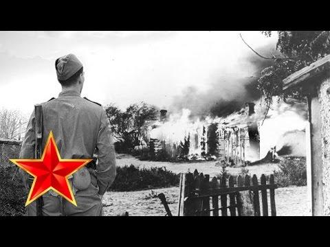 Враги сожгли родную хату - Песни военных лет - Лучшие фото