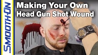 Bullet Hole Makeup Demo featuring Smooth-On Ultimate Blood Kit