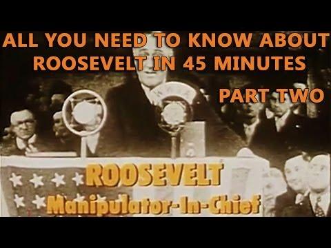 Roosevelt - Manipulator-In-Chief