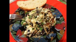 Салат закуска.  Баклажаны как грибы. Рецепт блюда для любого стола.