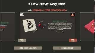 Team Fortress 2 Triad Pack- Sleeping Dogs Promo Items *Genuine quality*