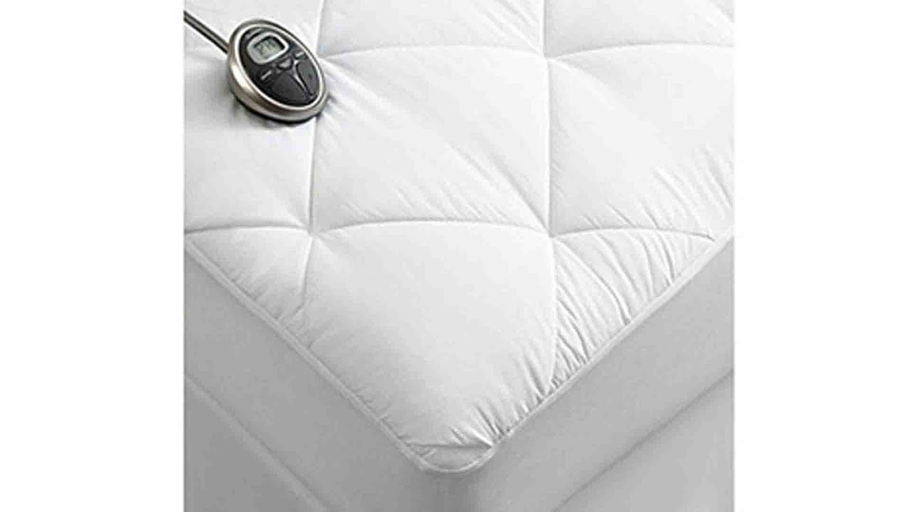 Sunbeam Premium Luxury Quilted Electric Heated | Mattress ...