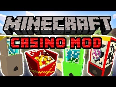 Minecraft Mody: Casino Mod - Automaty i Żetony! Graj i Wygrywaj Nagrody!
