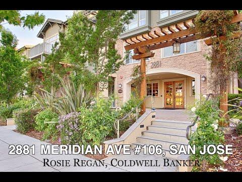 Real Estate House Tour | 2881 Meridian Avenue #106, Willow Glen, San Jose, CA