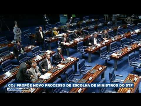 CCJ propõe novo processo de escolha de ministros do STF