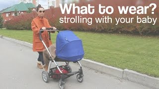 Что надеть на прогулку с ребенком осенью