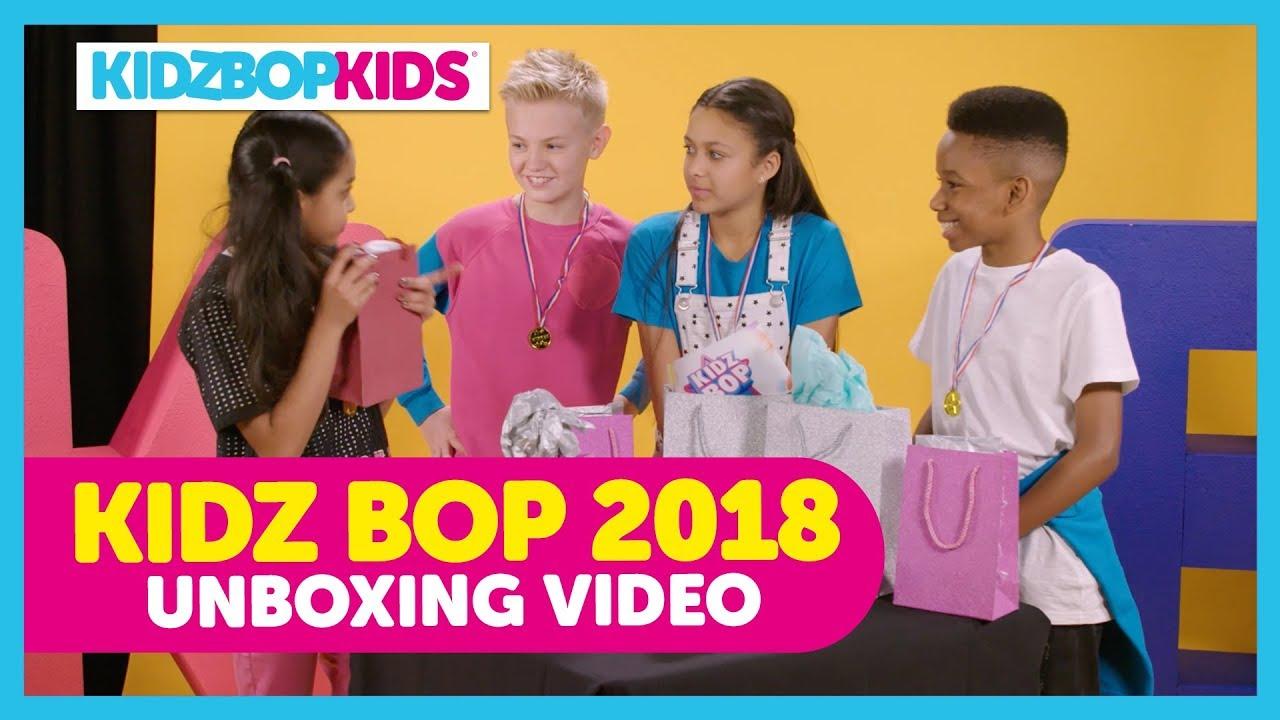 KIDZ BOP 2018 Unboxing with The KIDZ BOP Kids - YouTube