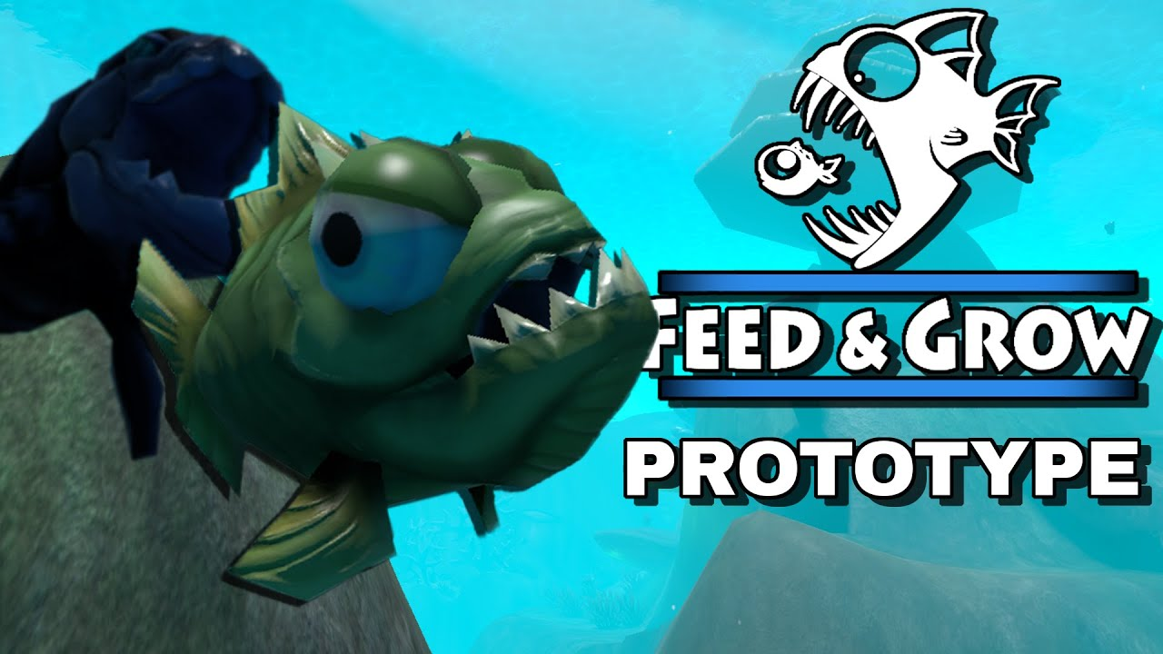 With fish feed and grow prototype youtube for Fish eat and grow