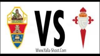 Video Gol Pertandingan Elche vs Celta Vigo