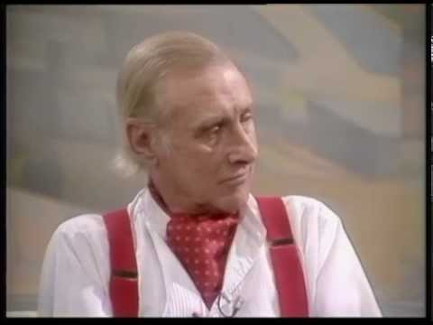 Spike Milligan deals with a gatecrasher on live TV