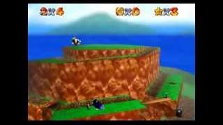 Super Mario 64 Multiplayer 1.2 Peach's Secret Slide 2 Stars + Bob-Omb Battlefield 2 Stars (TAS)