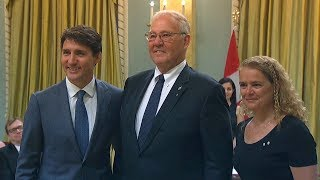 Bill Blair talks Trudeau cabinet shuffle