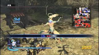 無双OROCHI2 強すぎる女媧 【修羅】- 大坂城の戦い
