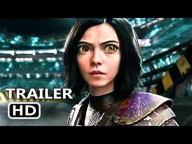 ALITA BATTLE ANGEL Trailer # 3 (NEW, 2019) Sci-Fi Movie HD
