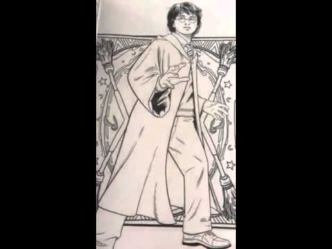 HarryPotter Coloring Book Magical Places And Characters