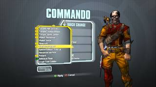 Borderlands 2 - Commando Madness Pack (Ex-Axton head and Delicious Flesh skin)
