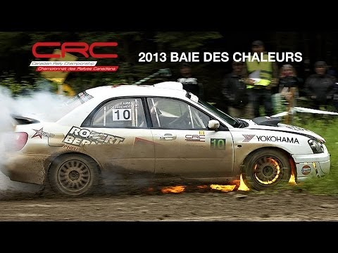 CRC TV: 2013 Rallye Baie des Chaleurs  Round 2 Canadian Rally Championship