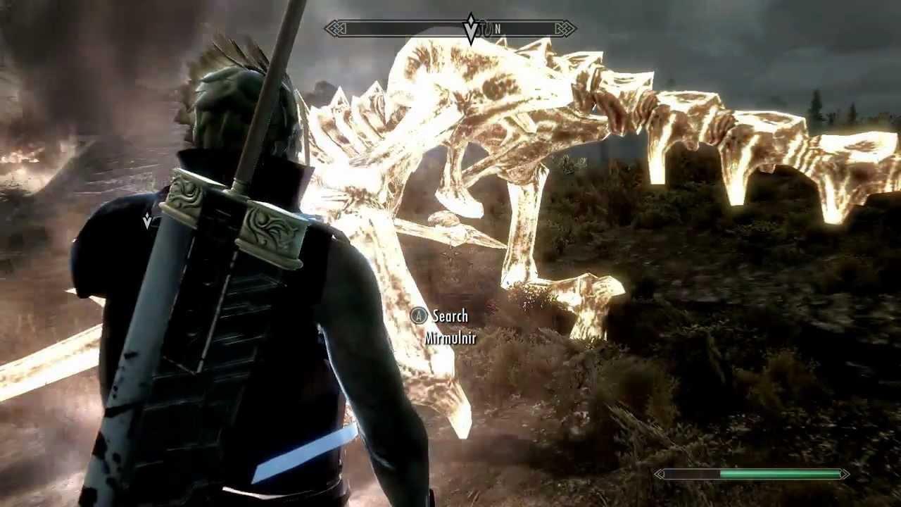 Skyrim Clothes Mod >> Cloud strife is dragon born(skyrim mod clothes + sword) - YouTube