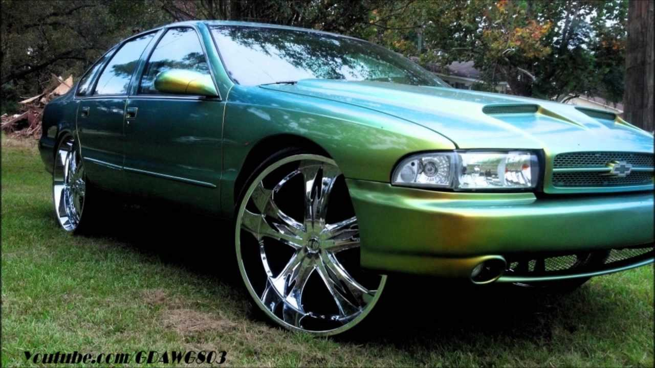Chameleon Bubble Chevy Impala Ss Tucking 28 Quot Dub Swagger