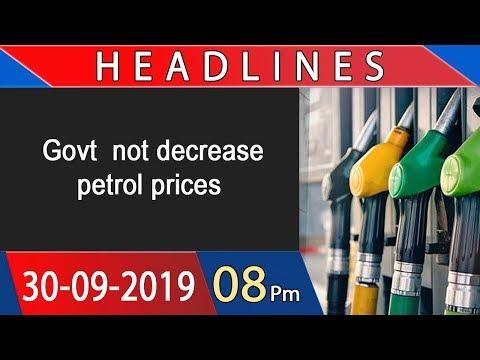 Headlines | 8 PM | 30 September 2019 | 92NewsHDUK