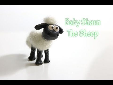 tutorial:-baby-shaun-the-sheep---polymer-clay