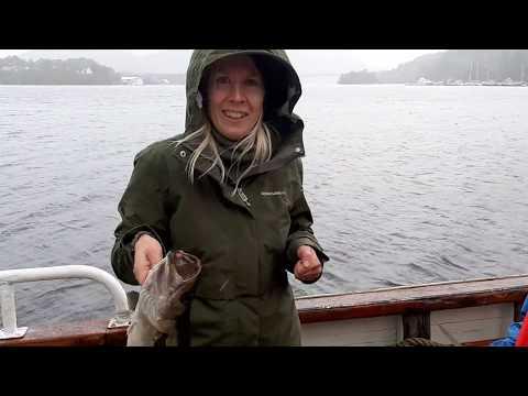 V Norsku chyti rybu i blondyna...