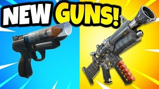 10 NEW WEAPONS COMING TO FORTNITE! (Fortnite Battle Royale)