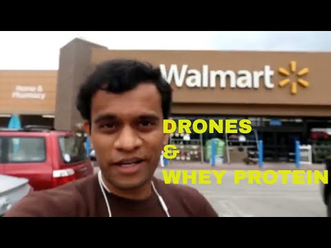 PRICE DIFFERENCE OF WHEY PROTEIN & DJI MAVIC DRONE IN BETWEEN INDIA & U.S.A.|| HINDI VLOG