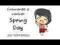 [ENSINANDO A CANTAR EM COREANO #2] Spring Day (봄날) - BTS (Dificuldade: Fácil)