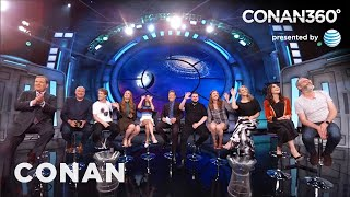 "CONAN360: ""Game Of Thrones"" Cast Interview Part 1"