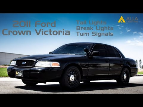 Install 1998-2011 Ford Crown Victoria Brake Stop Signal Tail Lights