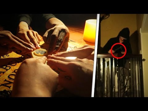 The Scariest 3:00 AM Ouija Board Experience.. *Caught on Tape*