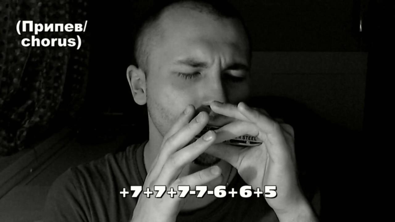 одинокий пастух табы для губной гармошки