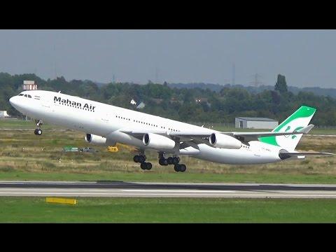 MahanAir A343 Düsseldorf Airport || EP-MMD