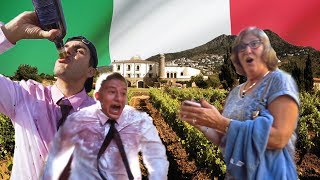 We Completely Ruined a Wine Tour in Italy...