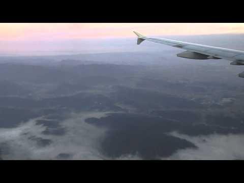 Nov 09 2013 Airbus A321 Landing at Chubu Centrair International Airport (NGO)