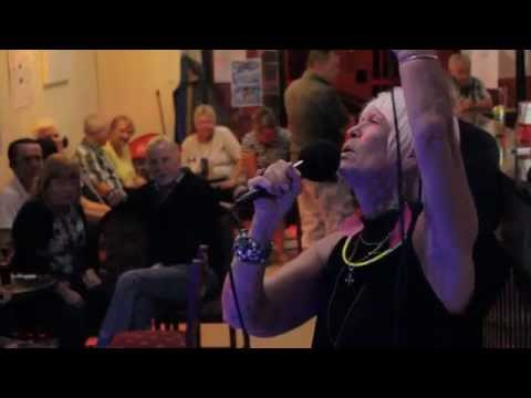 Patricia Luton @ the Flotsam and Jetsam Karaoke Show