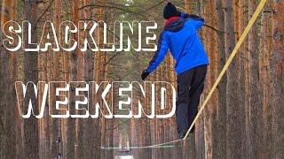 Slackline Weekend Voronezh. Longline & trickline 2015.