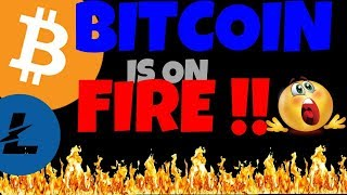 🔥 BITCOIN IS ON FIRE 🔥 will LITECOIN FOLLOW?? btc ltc price prediction, btc ltc news