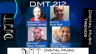 DMT 212: Indian Music Market, Apple, YouTube Rights, Grooveshark, Piracy, SoundCloud, Vinyl