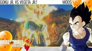 Dragon Ball Xenoverse - Goku Jr. vs Vegeta Jr.! (Mods)