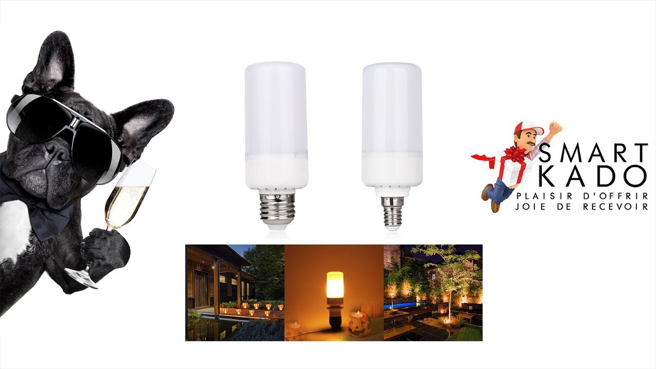 Ampoule Led Vis Ampoule Led Effet Flamme