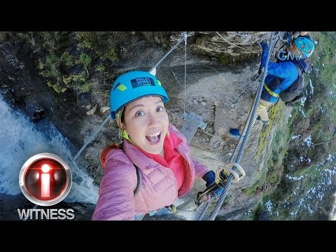 I-Witness: Kara David, nag-waterfall climbing sa Twin Falls, New Zealand