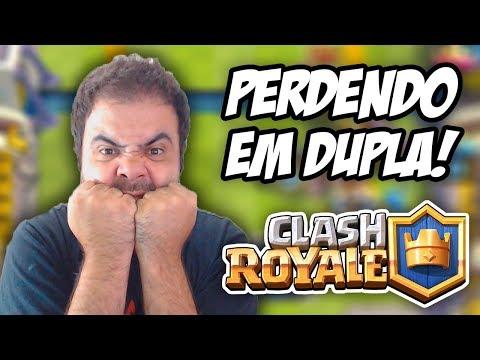 ANTES SÓ DO QUE MAL ACOMPANHADO! – CLASH ROYALE