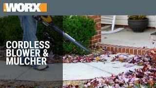 WORX 32V MaxLithium Cordless Blower/Sweeper