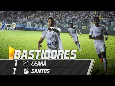 Ceará 1 x 1 Santos | BASTIDORES | Brasileirão (08/08/18)