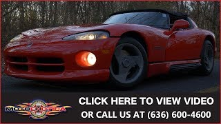 1995 Dodge Viper RT/10 (23,000 Miles) (SOLD)