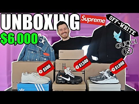 I Gave Away My Credit Card for a Day UNBOXING!! $6,000 DESIGNER SHOPPING SPREE UNBOXING!